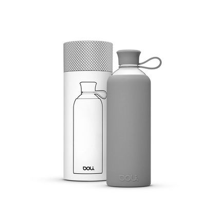 DOLI Trinkflasche TITANIUM - Grau