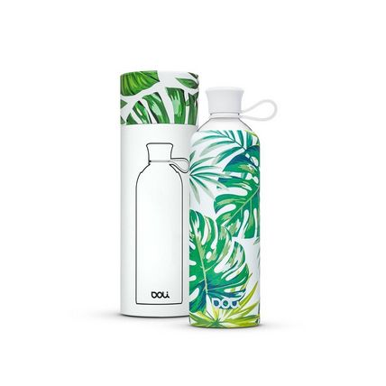 DOLI Trinkflasche TROPICA - Weiß-Grün
